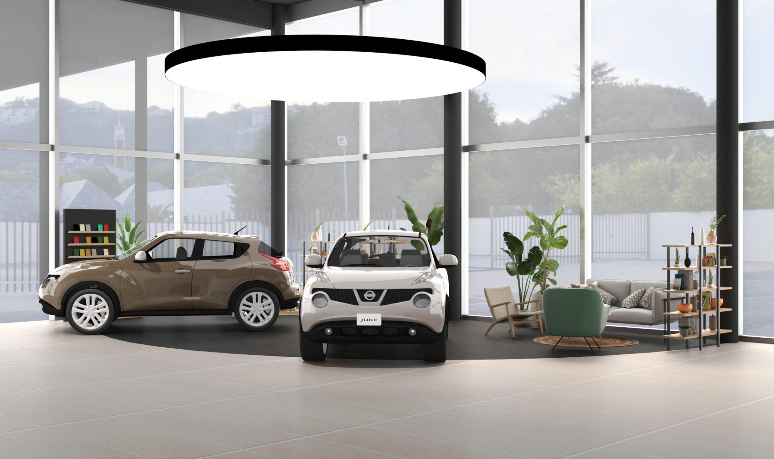 La concession automobile NISSAN sollicite R2 Stand & Event